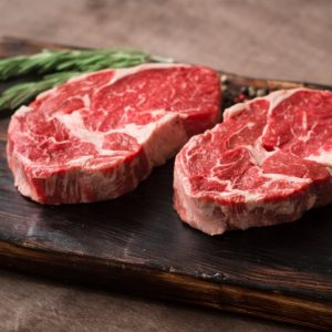 Organic Rib Eye Steak