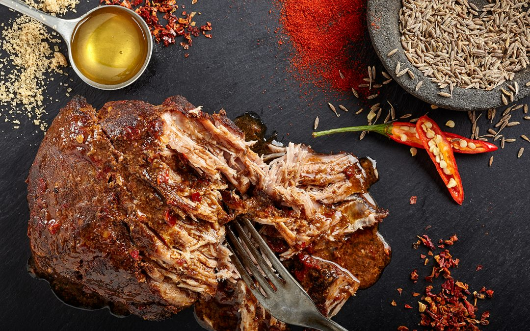 Wrap up your pulled pork