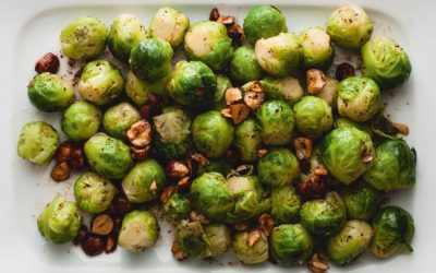 Brussel sprouts with crispy bacon