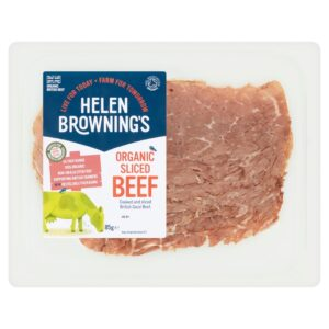 Organic Cooked sliced Beef