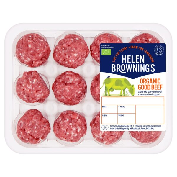 Organic British 100% Beef Meatballs