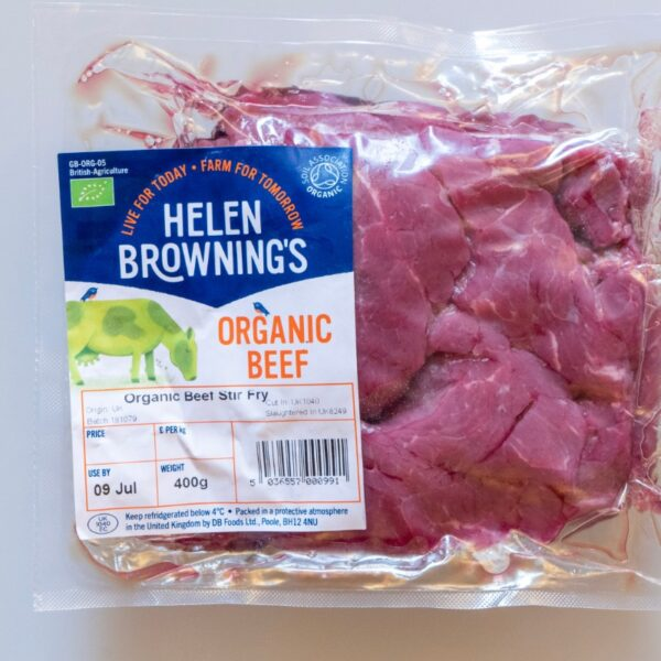Organic Beef stir-fry