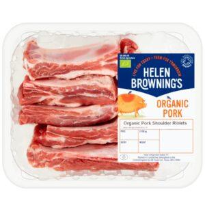 Organic Pork Shoulder Riblets