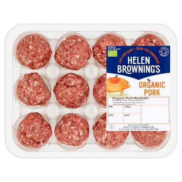 Organic Pork Meatballs