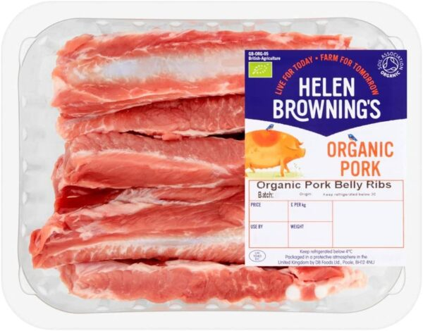 Organic Pork Belly Ribs