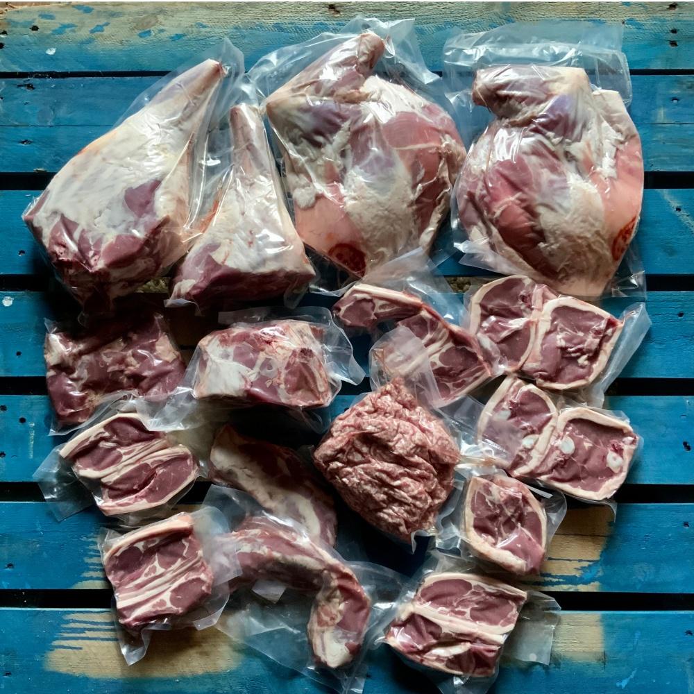 organic whole lamb