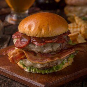 Seasoned Pork Burger