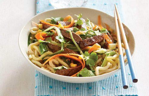 Chilli Beef Noodle Salad