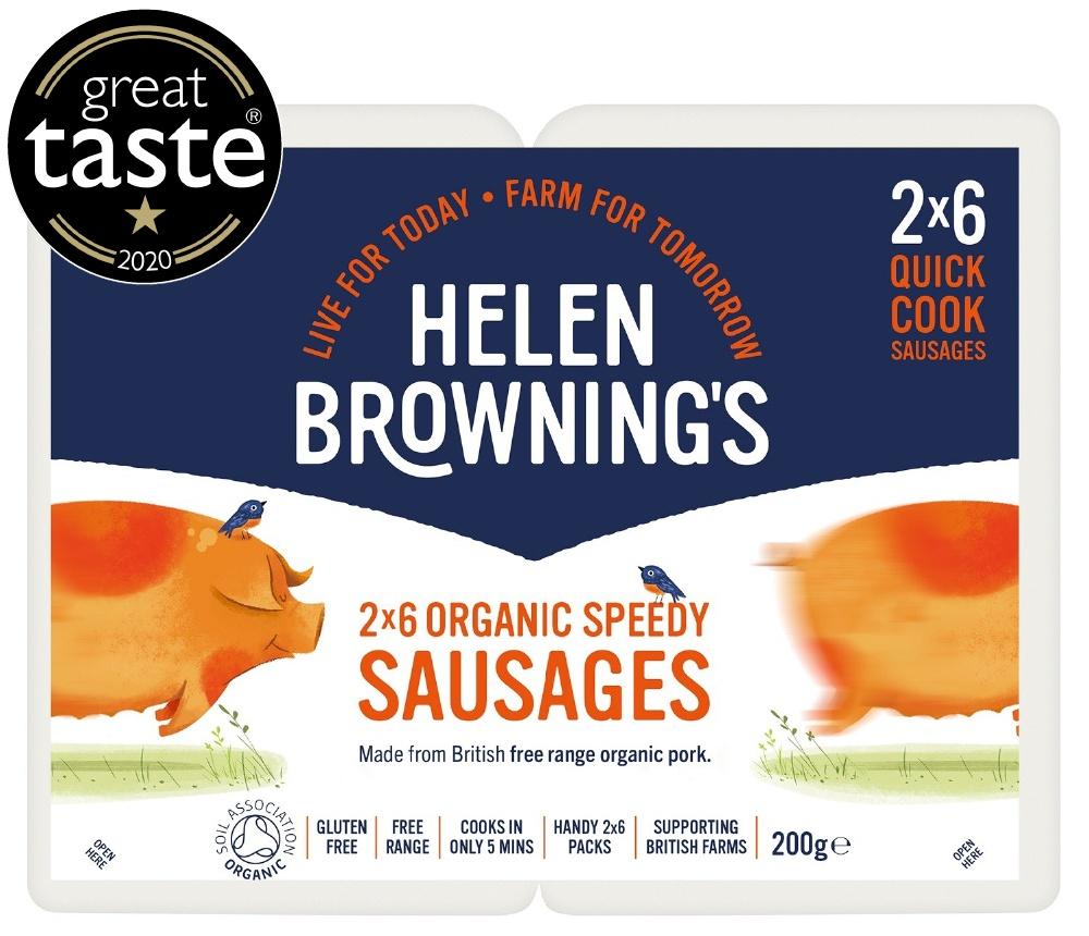 organic sausages