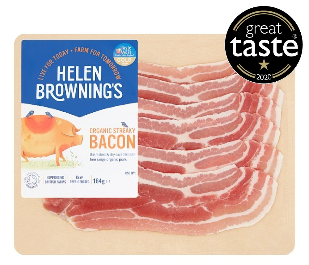 Organic Unsmoked Bacon