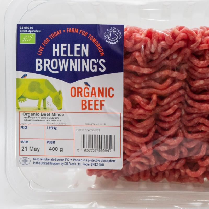 Organic Beef Mince