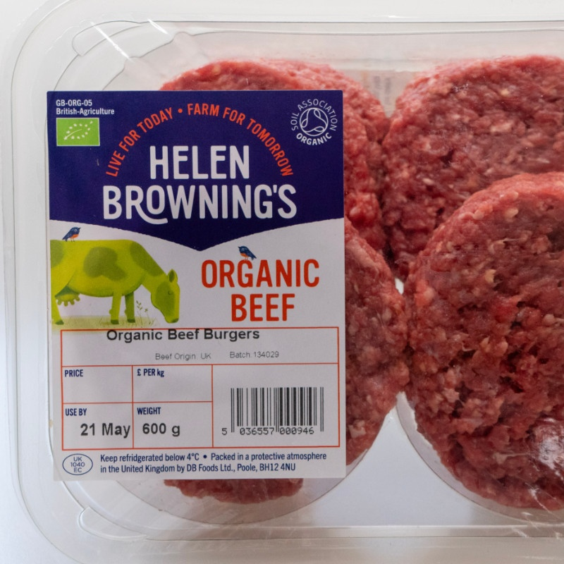 Organic Beef Burgers