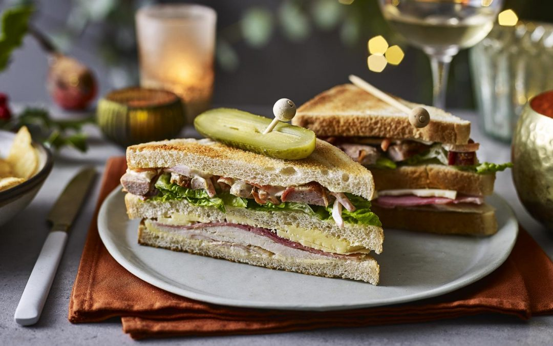 The Ultimate Christmas Leftovers Sandwich