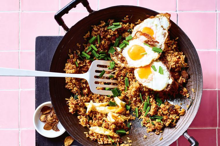 'Fake-away' Recipe: Garlic Fried Rice with Crisp Pork