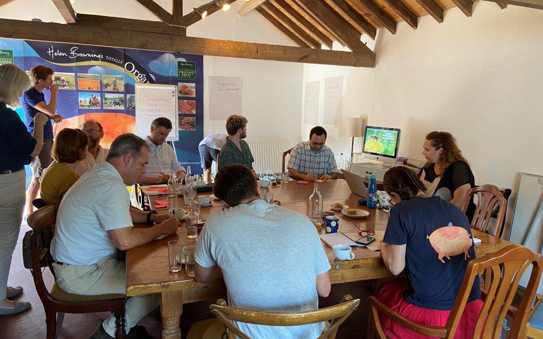 Organic Trade Board Networking Event