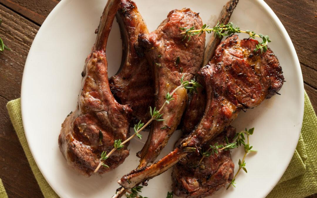 Love Lamb Week – Lamb cutlets with chilli